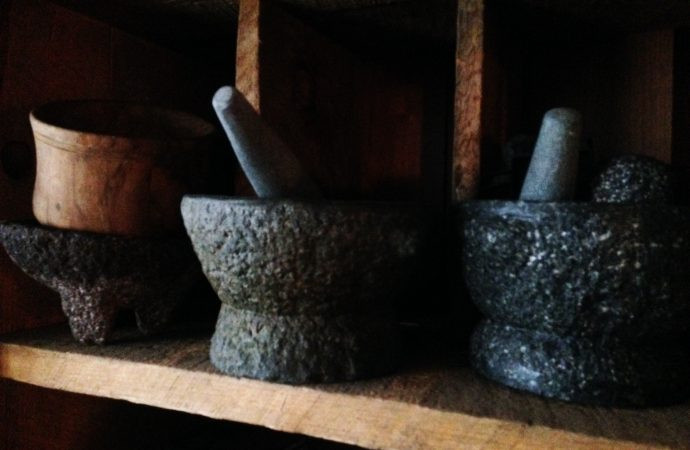 Mortar and Prestle
