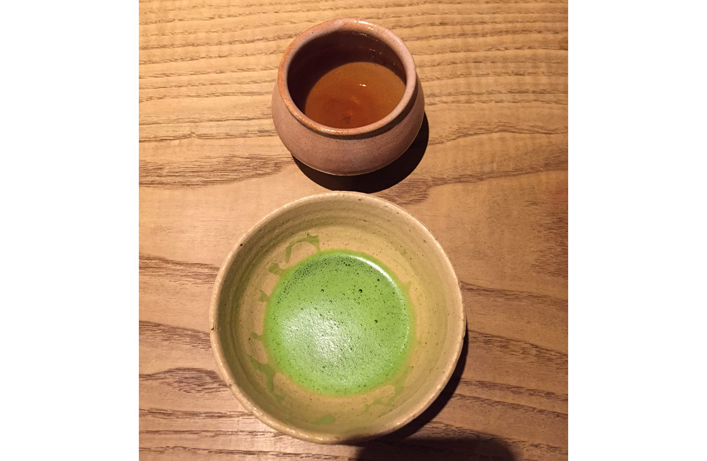 Matcha and Genmaicha Tea